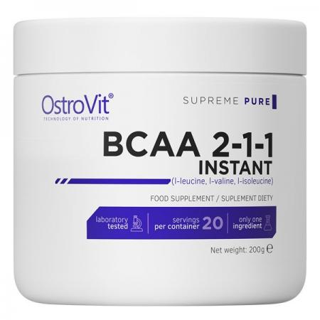 OstroVit BCAA 2-1-1 Instant, 200 грамм